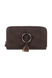 Roxy Tassel Zip Wallet - Front cropped