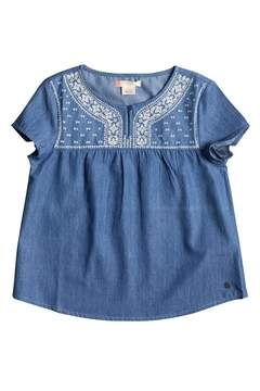 Shoptiques Product: Girls Embroidered Top