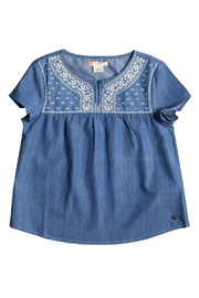 Roxy Girl Girls Embroidered Top - Product Mini Image