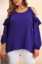 Umgee Royal Bliss Blouse - Product Mini Image