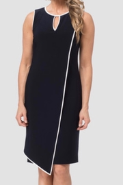 Joseph Ribkoff Royal blue and  black trim dress - Product Mini Image