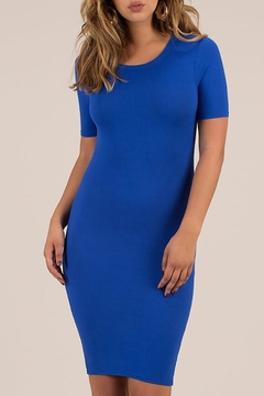 House of Atelier Royal Blue Bodycon - Product List Image