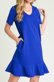 First Love Royal Blue Dress - Product Mini Image