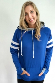 Izzie's Boutique Royal Blue Hoodie - Product Mini Image