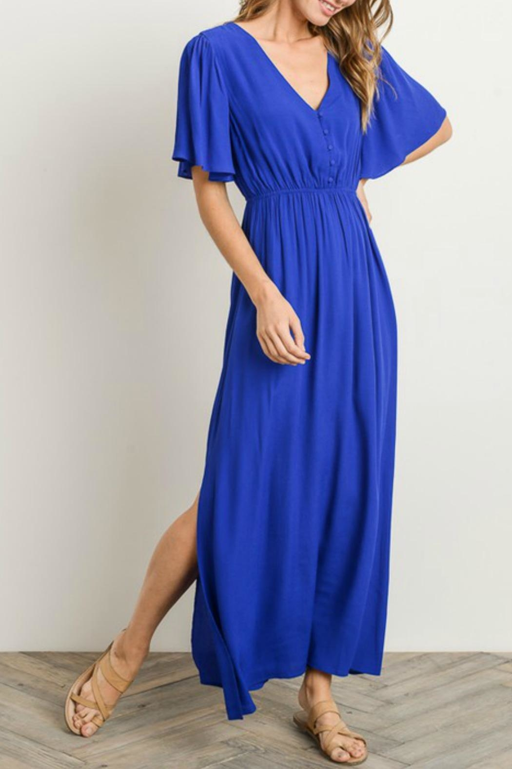 Gilli Royal Blue Maxi - Main Image