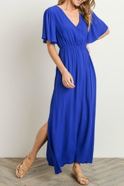Gilli Royal Blue Maxi - Front cropped