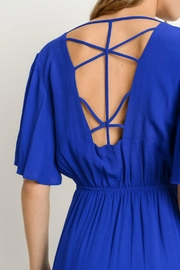 Gilli Royal Blue Maxi - Front full body