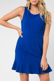 Everly Royal-Blue Shift Dress - Product Mini Image