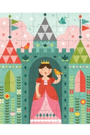Petit Collage Royal Castle Puzzle - Front full body