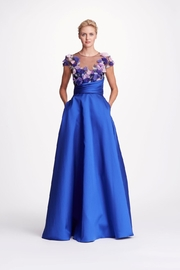 Marchesa Royal Floral Gown - Product Mini Image