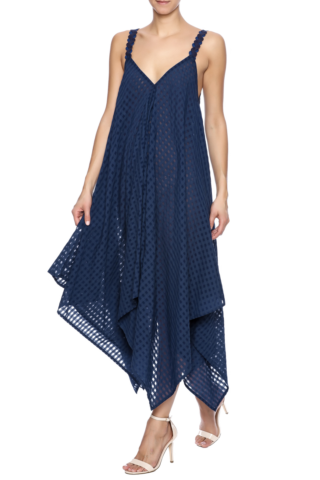 Royal Jelly Harlem Indigo Mimi Dress - Main Image