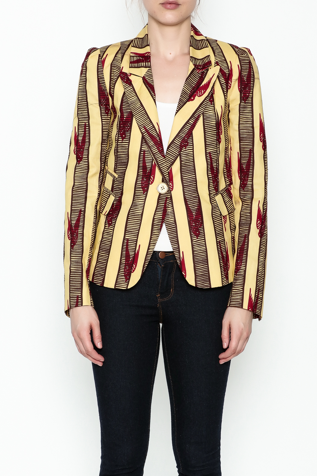 Royal Jelly Harlem Tailored Blazer - Front Full Image