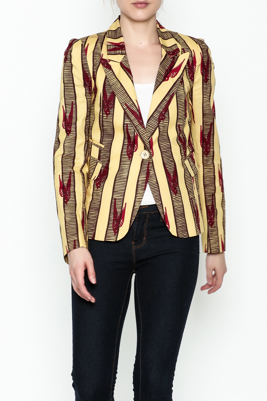 Royal Jelly Harlem Tailored Blazer - Front Cropped Image