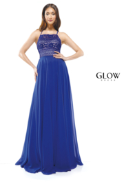 glow by colors Royal Lace Gown - Product Mini Image