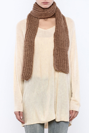 Royal Oak Dress Woven Hat And Scarf - Front full body