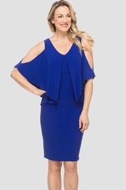 Joseph Ribkoff Royal Sapphire dress - Product Mini Image