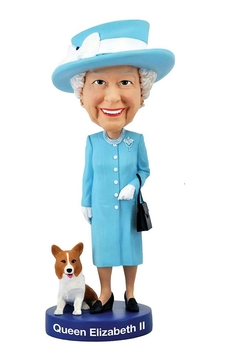 Shoptiques Product: Queen Elizabeth Bobblehead