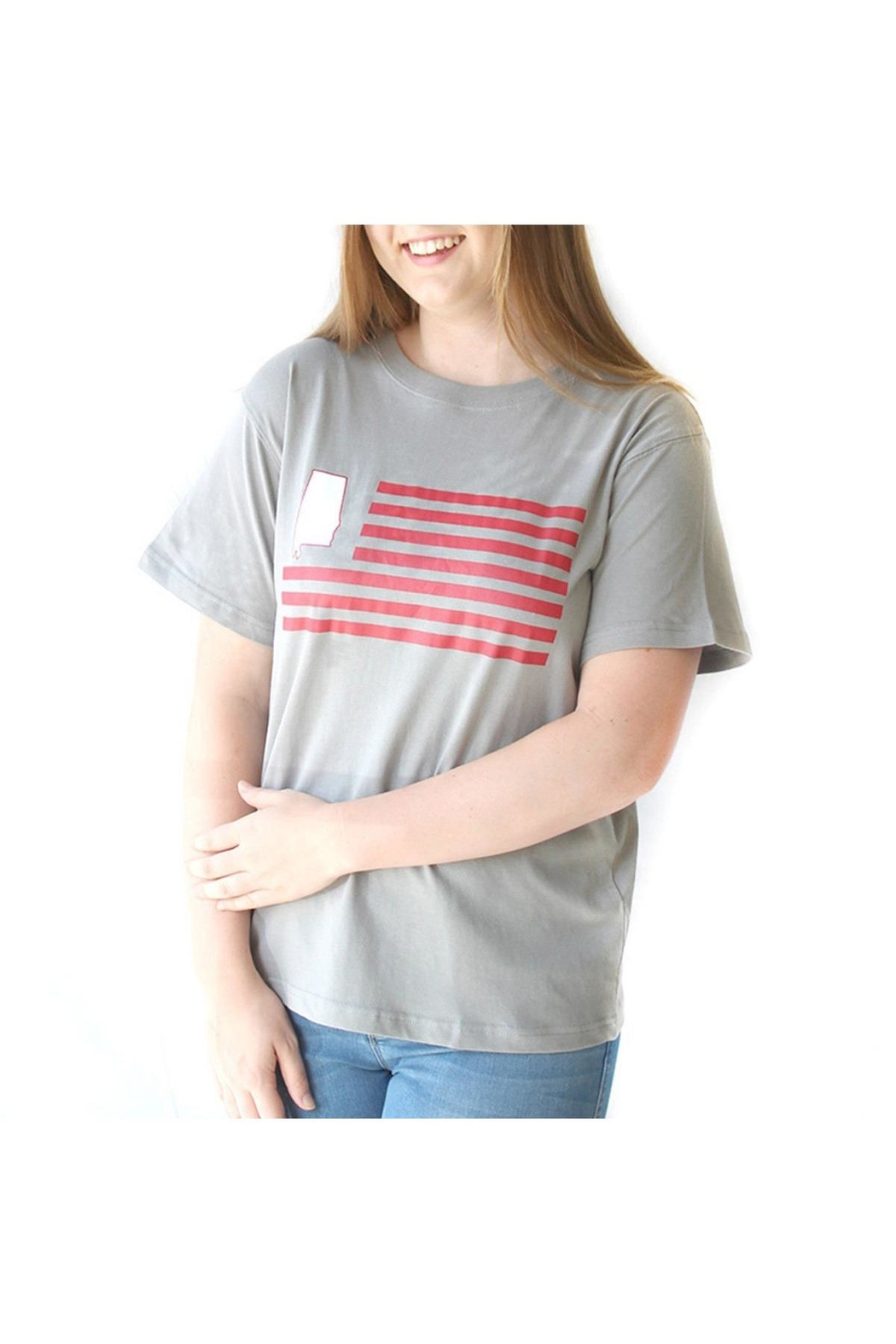 royal standard Alabama Flag T-Shirt - Front Full Image