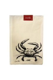 royal standard Fierce Crab Towel - Front cropped