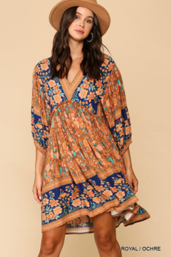 Shoptiques Product: Royale Bohemian Flowy Dress
