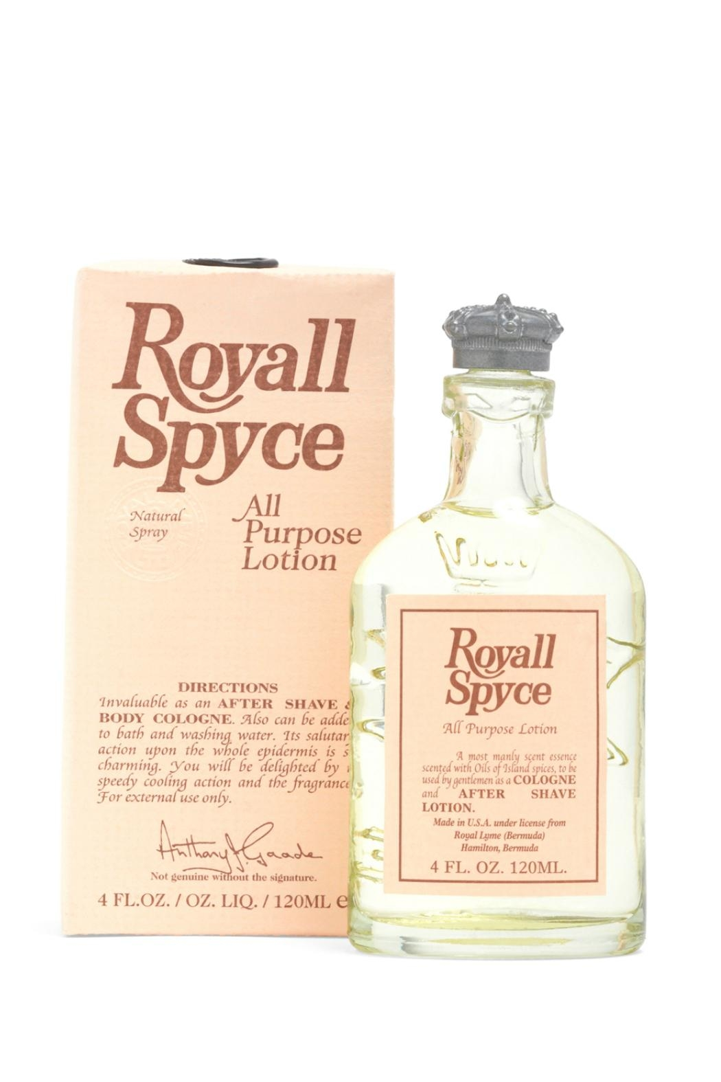 Royall Fragrances Spice Allpurpose Lotion - Main Image