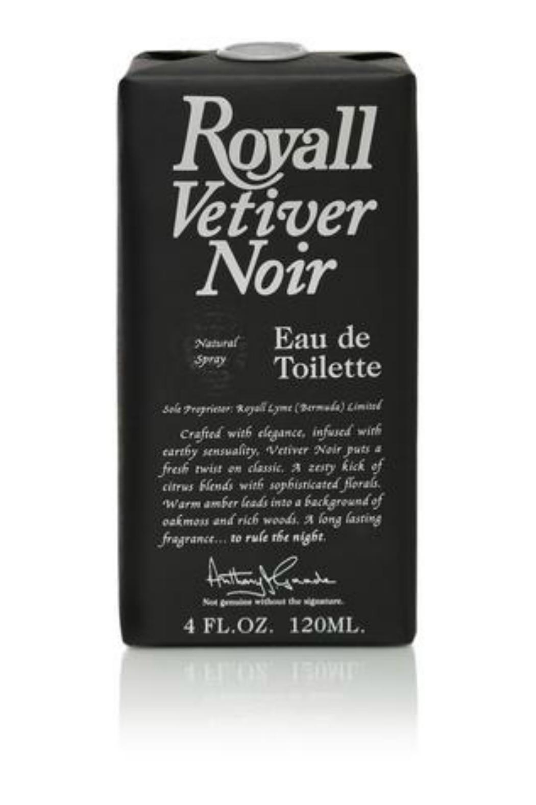 Royall Fragrances Royall Vetiver Noir - Front Full Image