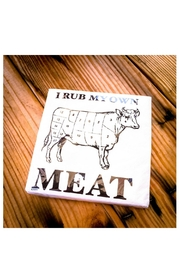 Twisted Wares Rub Meat Napkins - Product Mini Image