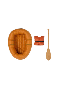 Maileg Rubber Boat For Mouse - Dusty Yellow - Alternate List Image