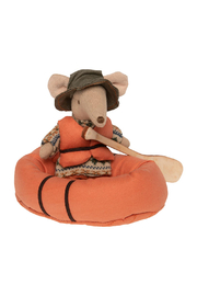 Maileg Rubber Boat For Mouse - Front full body