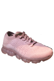 Jomo Rubber Sole Knit Lace Up Sneakers - Product Mini Image