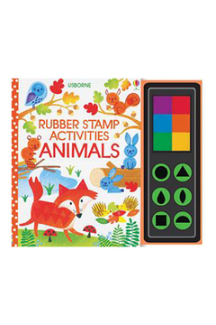 Usborne Rubber Stamp Activities Animals - Alternate List Image