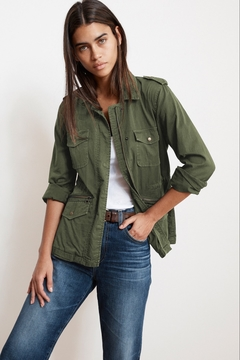 Velvet by Graham & Spencer  Ruby Army Jacket - Forest - Product List Image