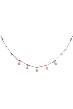 Bronwen Ruby Isis Necklace - Alternate List Image