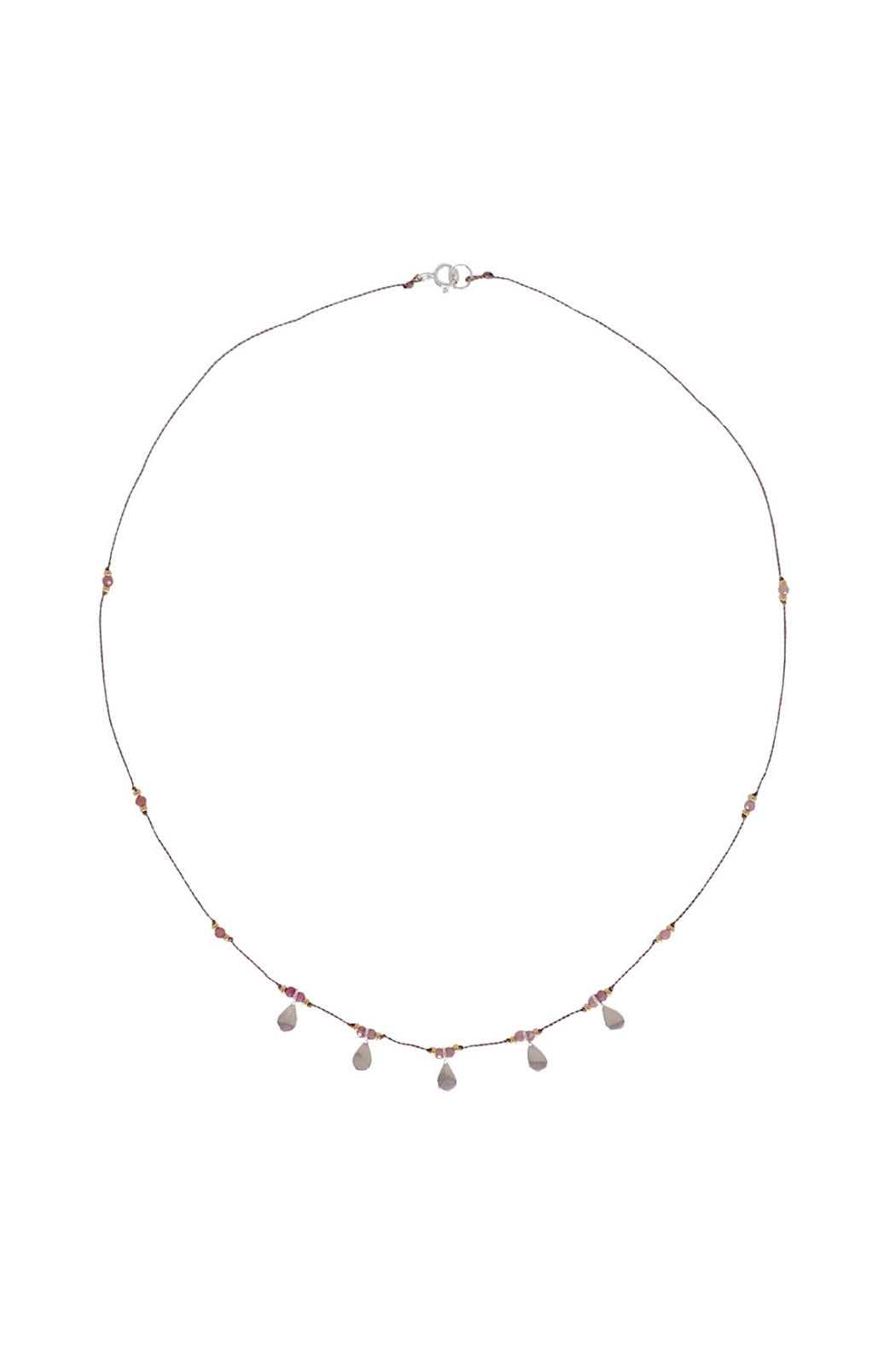 Bronwen Ruby Isis Necklace - Main Image