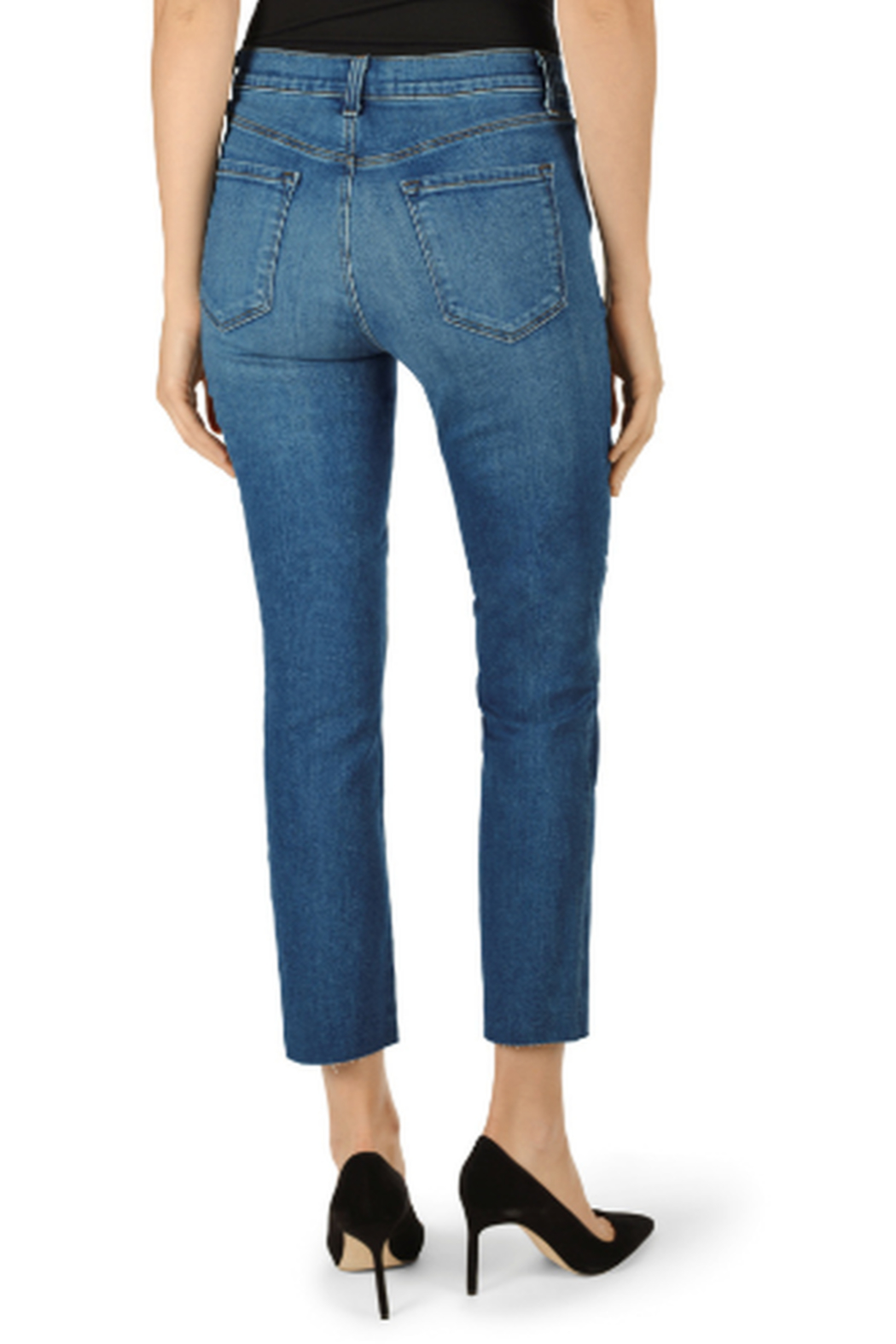 J Brand Ruby Lovesick High-Rise Cropped Cigarette - Side Cropped Image