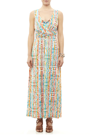 Ruby Road Colorful Print Maxi - Front cropped