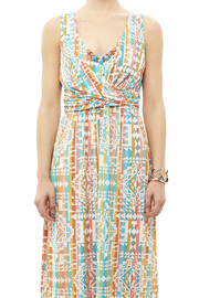 Ruby Road Colorful Print Maxi - Side cropped