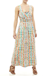Ruby Road Colorful Print Maxi - Front full body