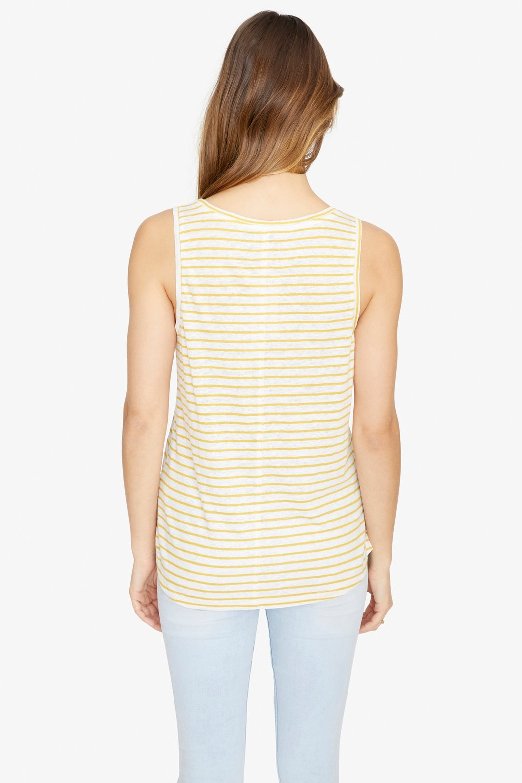 Sanctuary Ruby Stripe Tank - Side Cropped Image