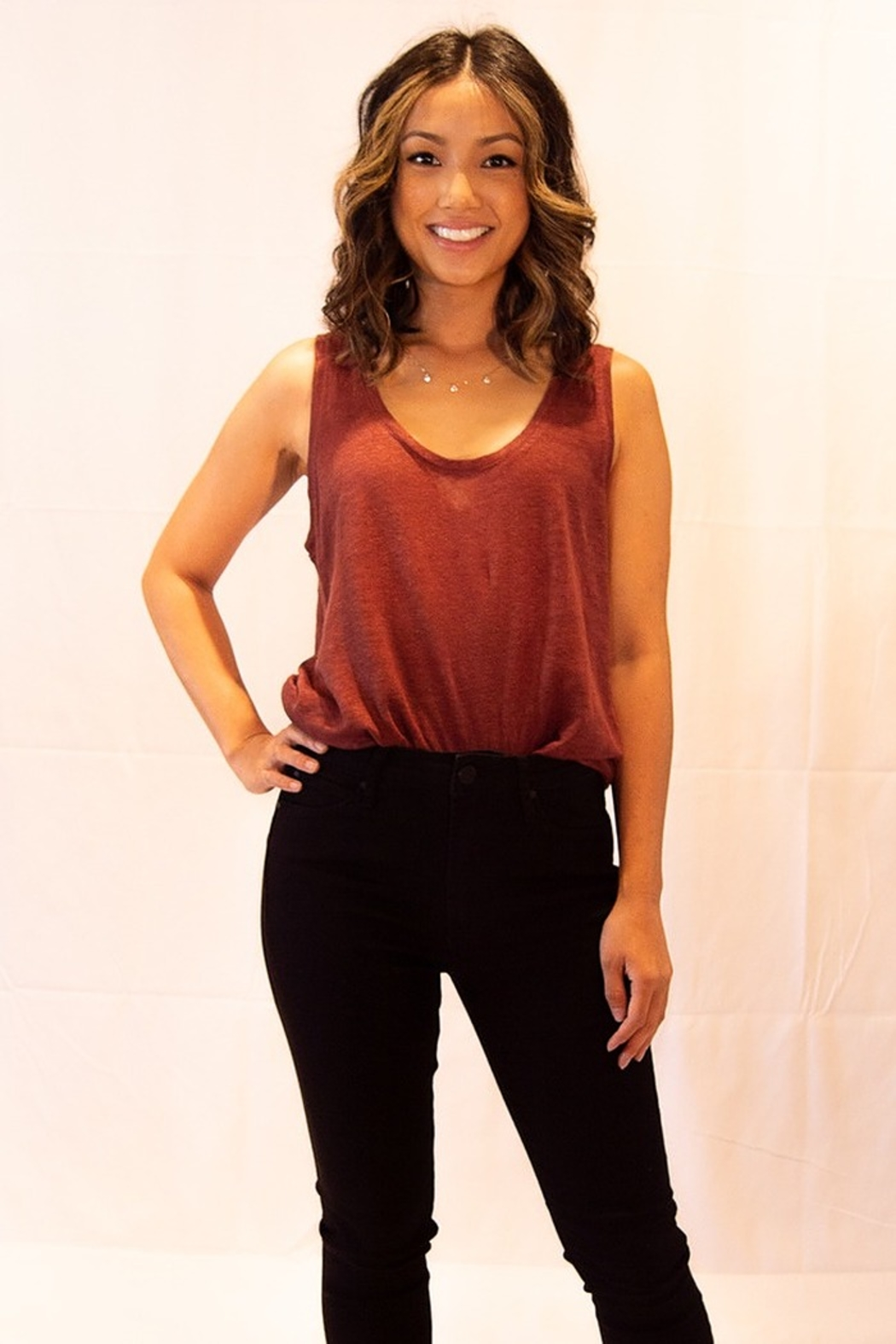 Sanctuary Ruby Tank Top - Front Full Image