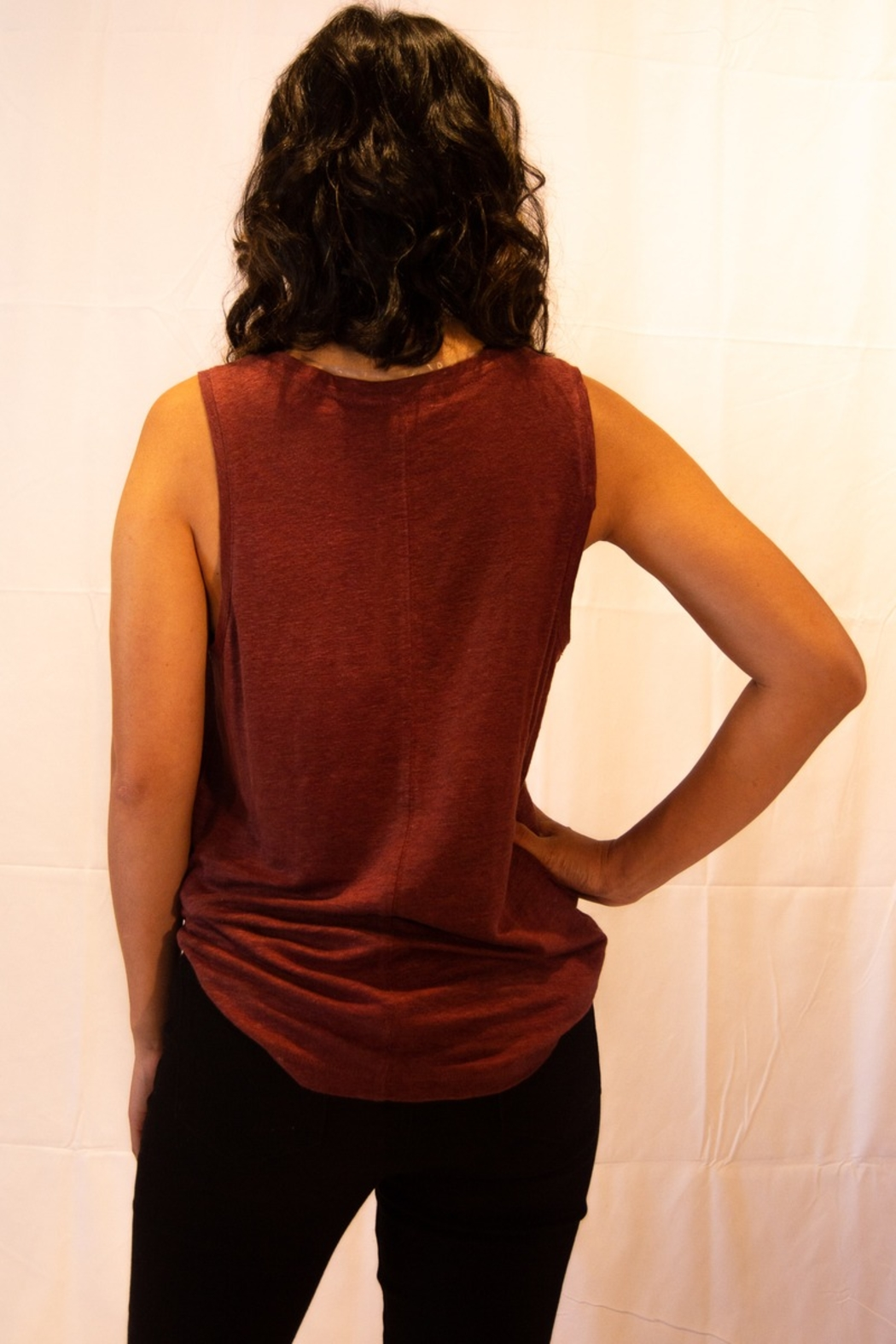 Sanctuary Ruby Tank Top - Side Cropped Image