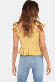 Lost In Lunar  Ruby Top - Front full body