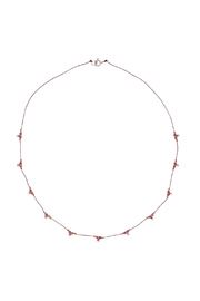 Bronwen Ruby Trails Necklace - Front cropped
