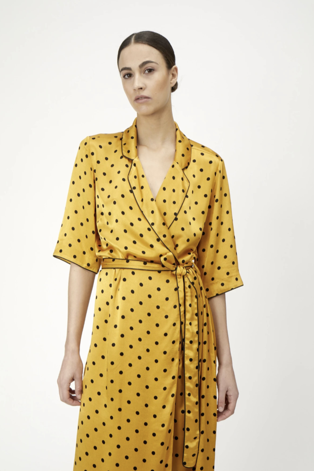 Just Female Ruby Wrap Dress - Side Cropped Image