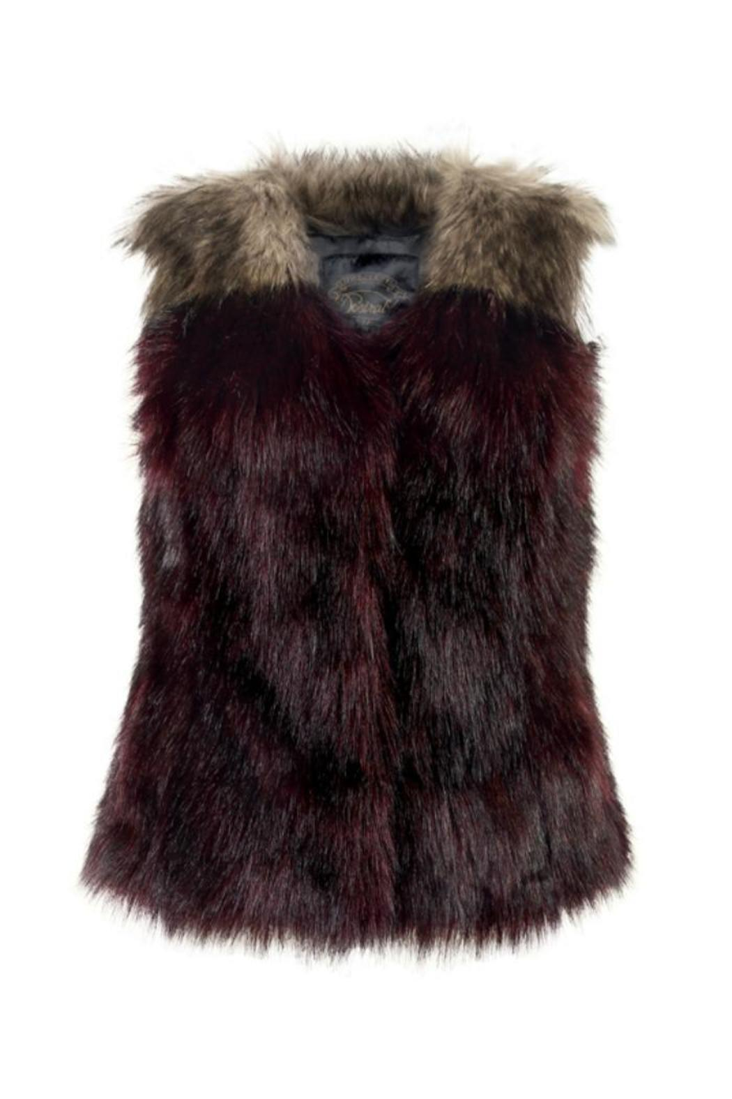 Ruby Amp Ed Faux Fur Vest From East Lothian By Heart Amp Sole