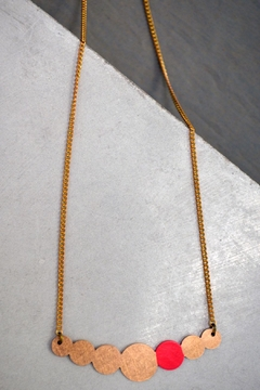 Ruby on Tuesday Circle Collier Necklace - Alternate List Image