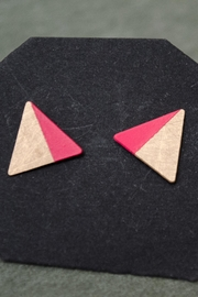 Ruby on Tuesday Triangle Earrings Studs - Product Mini Image