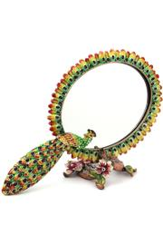 Ruccinni Peacock Mirror And Frame - Product Mini Image