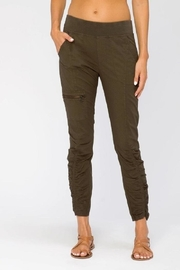 XCVI Wearables Ruched Ankle Pant - Product Mini Image