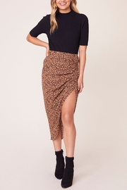 BB Dakota Ruched Awakening Midi Skirt - Product Mini Image